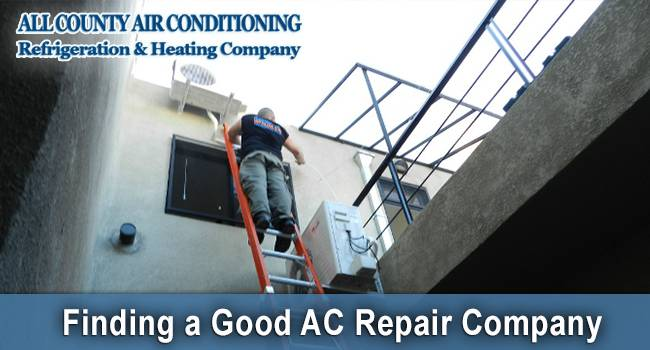 How to Find a Good AC Repair Company