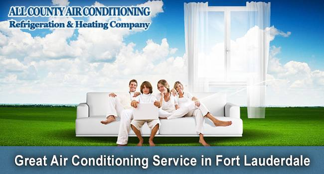 First Class Air Conditioning Repair in Fort Lauderdale